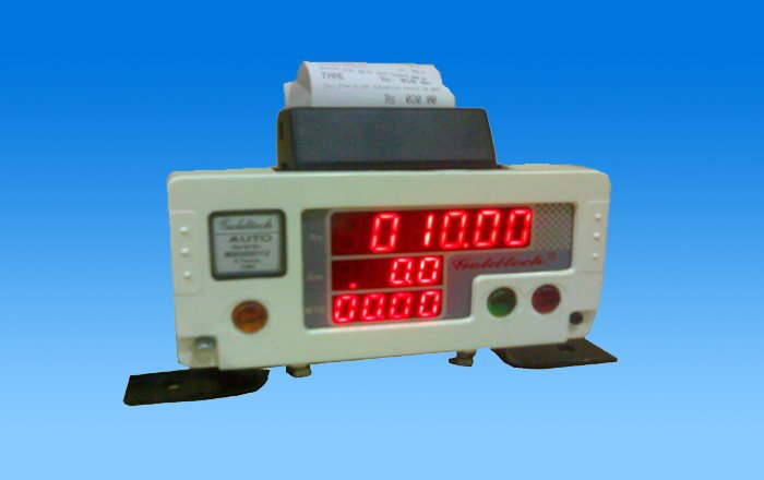 Taxi Fare Meter with Printing Facility